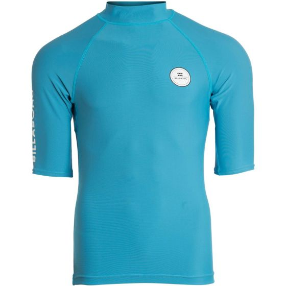 Billabong all day rash vest bright blue