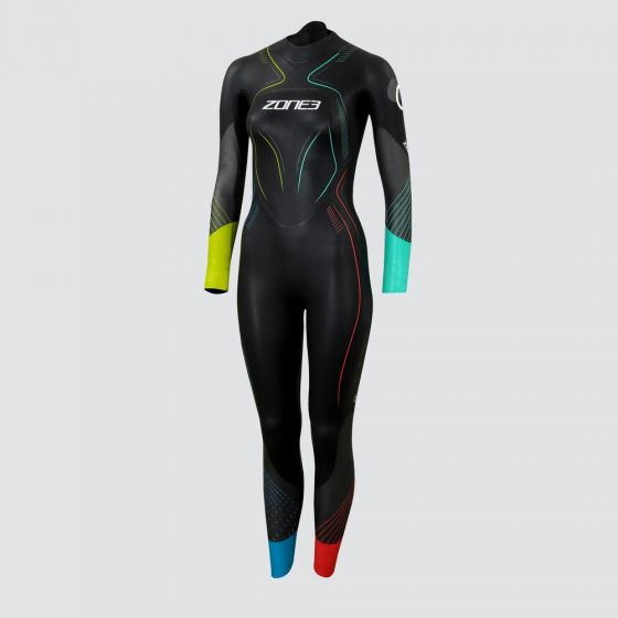 Zone 3 Womens Aspire Limited Edition Swimming Wetsuit - front