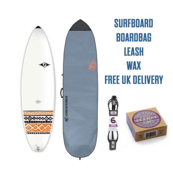 BIC 6'7 Surfboard Package 2018