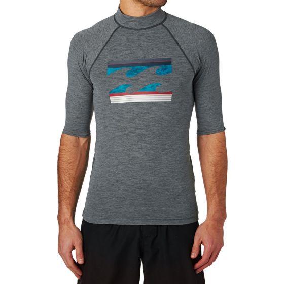 Billabong Superwave Rash Vest - Grey