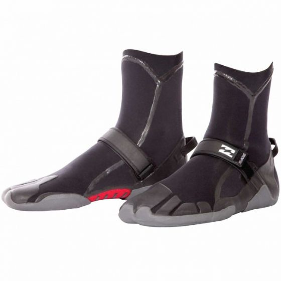 Billabong 7mm Furnace Carbon Round Toe Wetsuit Boots 2018