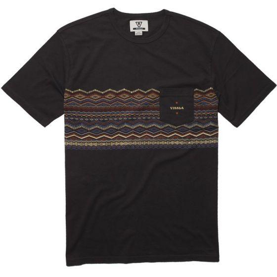 Vissla Cadjau Knit T-Shirt - Phantom