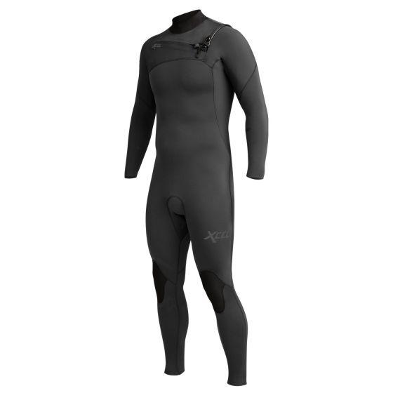 Xcel Comp 4/3mm Chest Zip Wetsuit 2020 - Jet Black