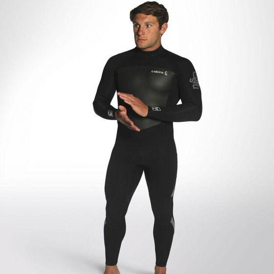 C Skins Element 3/2 wetsuit - black