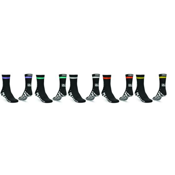 Globe Cult Of Freedom Sock 5 Pack - Assorted