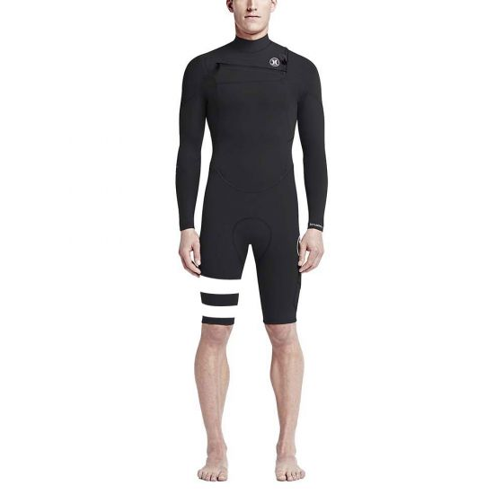 Hurley Fusion 2mm Long Sleeve Shortie Wetsuit 2017