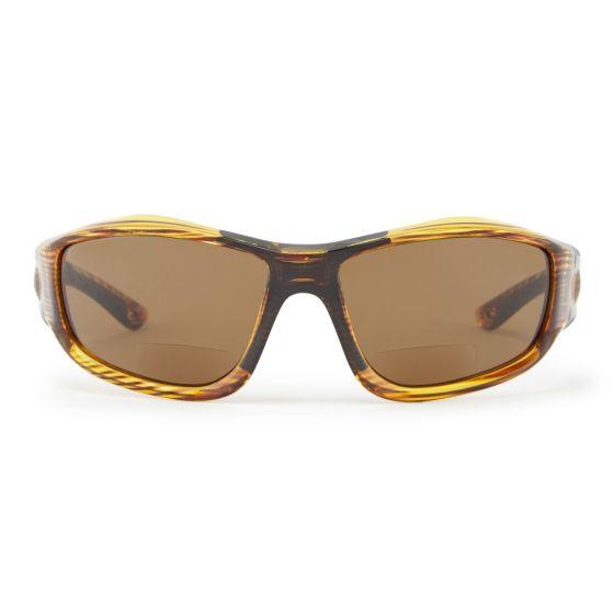 Gill Race Vision Bi-Focal 2.50+ Sunglasses 2021 - Woodgrain/Amber - Front