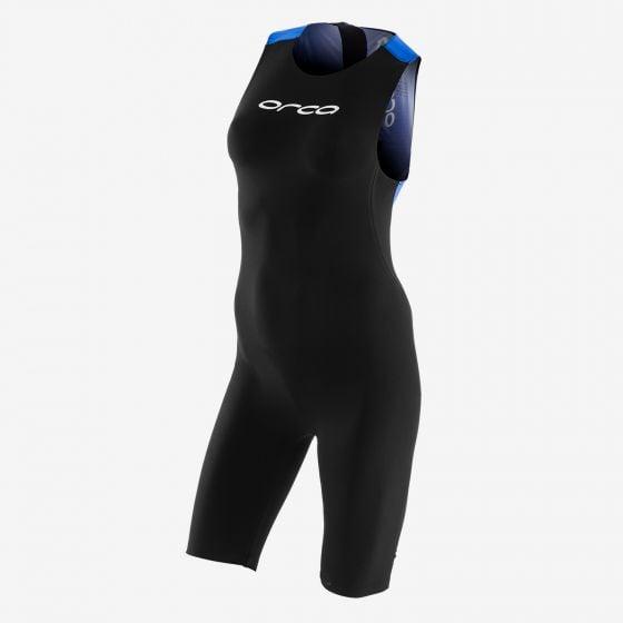 Orca 226 Perform Womens Swimskin - Black/ Blue