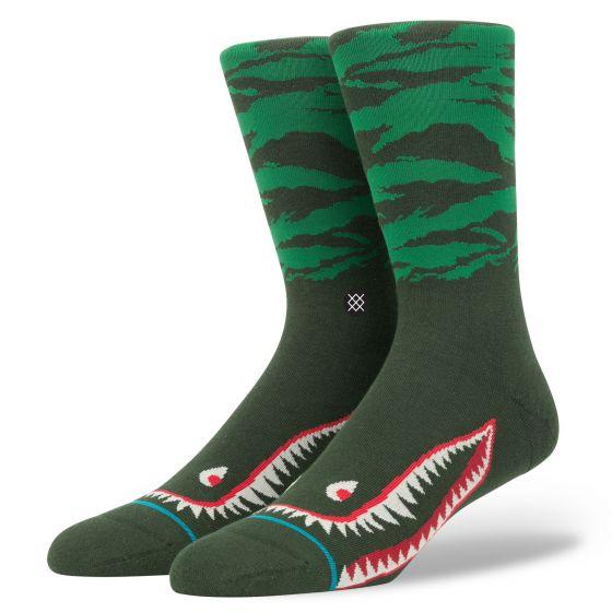 Stance Warhawk Socks Green