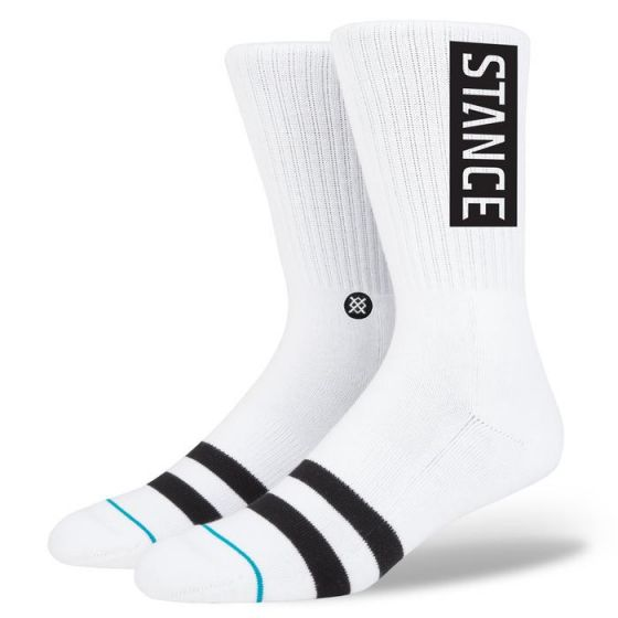 Stance OG Socks in White