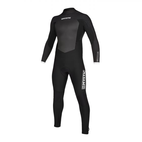 Mystic Majestic 5/3mm Back Zip Winter Wetsuit 2020 in Black