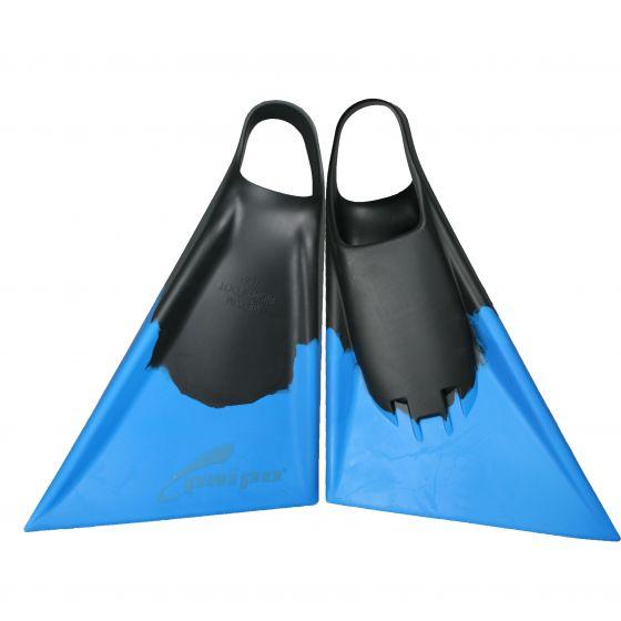Paipo Bodyboard/Swim Fins - Black/Blue
