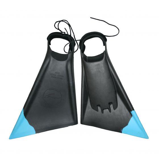 Paipo Bodyboard/Swim Ltd Edition Fins - Black/Emerald