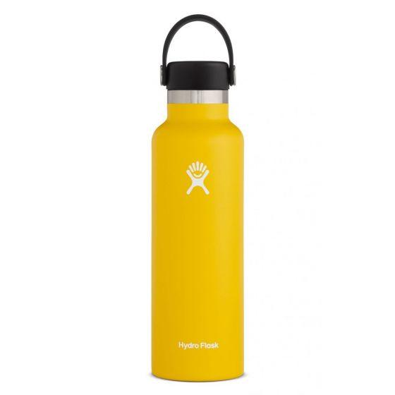 Hydro Flask 21oz Standard Mouth w/Flex Cap Bottle in Sunflower