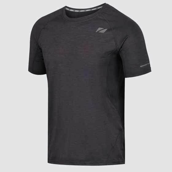 Zone 3 Mens Power Burst T-Shirt - Charcoal