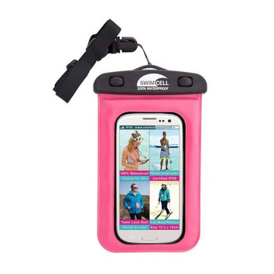 Hydramate Swimcell Standard Phone Case 2021 - Pink - Front