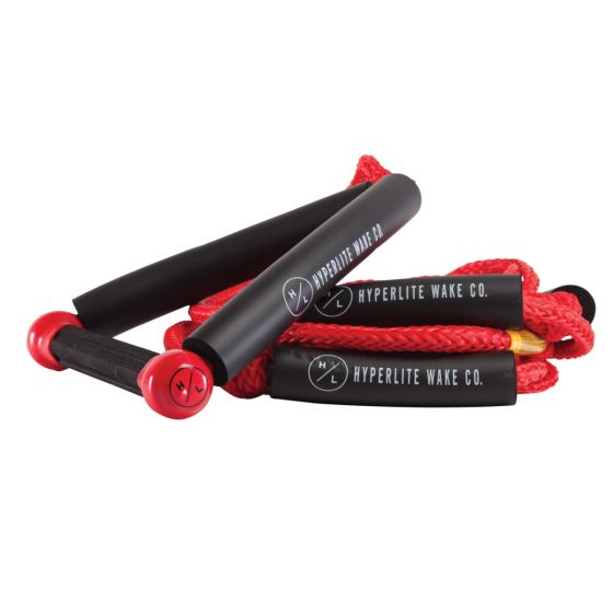 Hyperlite Surf Rope 25' With Red Handle 2021 - Red - Full View