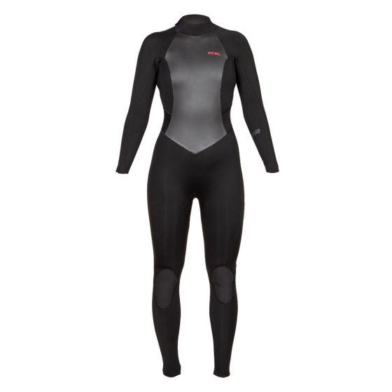 Xcel Axis 3/2mm Back Zip Womens Wetsuit 2019 - Black