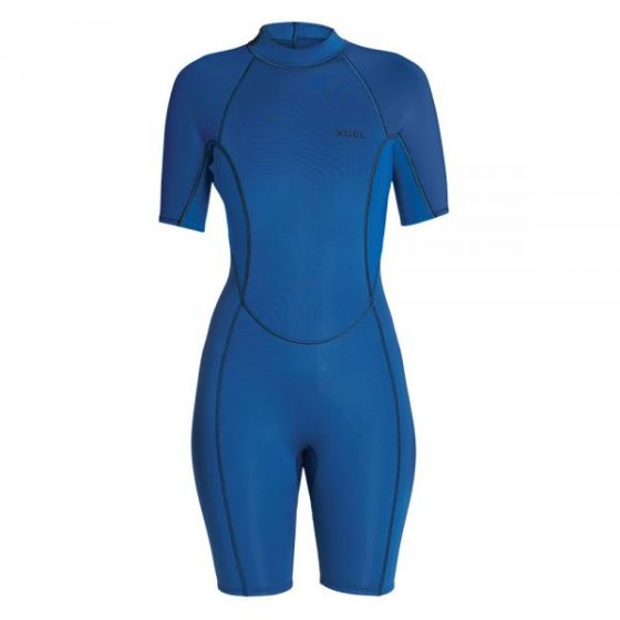 Xcel Axis 2mm S/S Spring Womens Wetsuit 2019 - Faint Blue