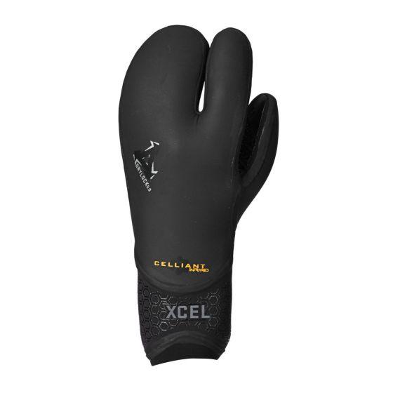 Xcel 5mm Drylock 3 finger wetsuit gloves