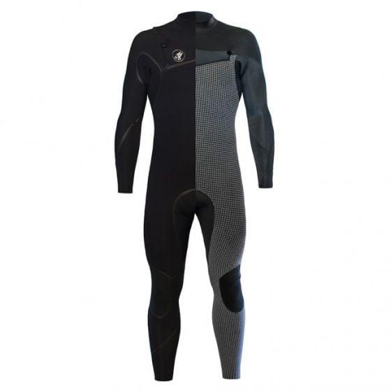 Zion Yeti Zip free 5mm mens winter wetsuit
