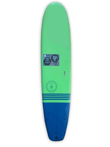 Baju 6ft Classic Foam Surfboard - Green