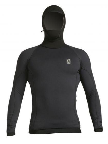 C-Skins HDi Polypro Long Sleeve Hooded Thermal Rash Vest