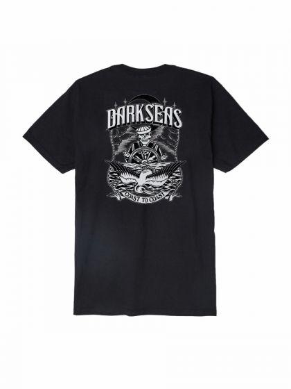 Dark Seas Wheelman T Shirt -  Black