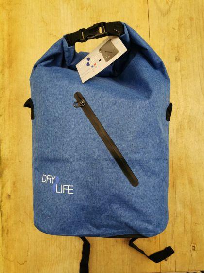 Dry Life 40L Dry Bag Backpack - Blue front