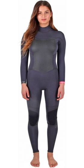 Billabong Synergy Womens Back Zip 5/4 Winter Wetsuits 2017