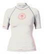 Billabong Logo Ladies Rash Vest 2016 - White