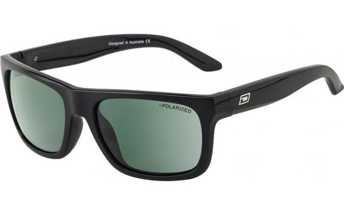 Dirty Dog Boom Polarised Sunglasses - Black/Green