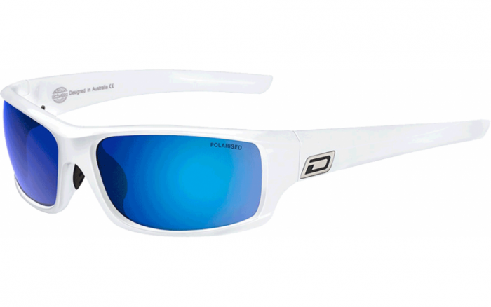 Dirty Dog Clank Polarised Sunglasses - White
