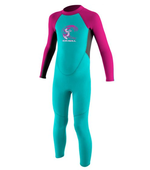 O'Neill Toddlers 2mm Reactor Girls Full Wetsuit 2017