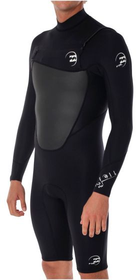 Billabong Absolute Comp 2mm Mens Chest Zip Long Sleeve Wetsuit