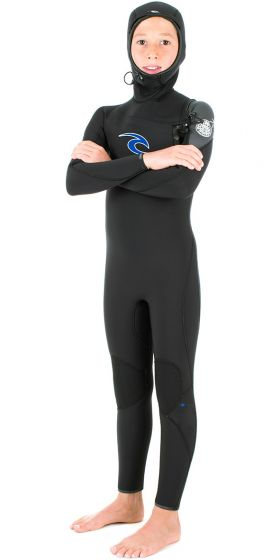 Rip Curl Kids Hooded 5mm Flash Bomb Wetsuit