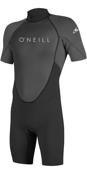 O'Neill Reactor 2 2mm Mens Shorty Wetsuit 2021 - Black / Graphite