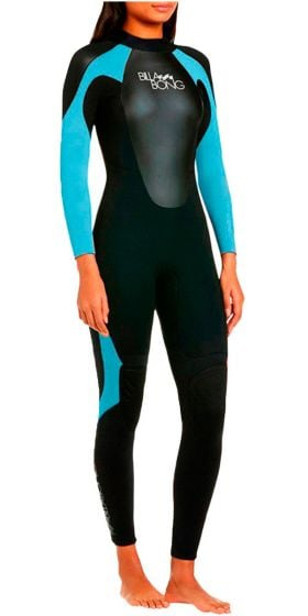 Billabong Ladies Launch 5/4/3mm GBS Wetsuit 2018 - Turquoise