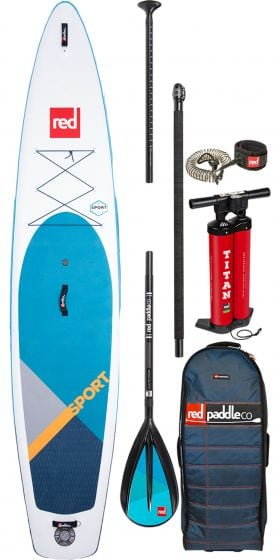 Red Paddle 11ft Sport Inflatable Sup