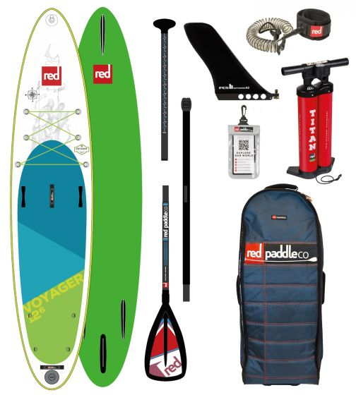 Red Paddle Co 12ft 6 Voyager Inflatable Sup