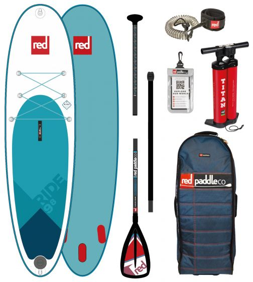 Red Paddle co 9ft 8 inflatble SUP
