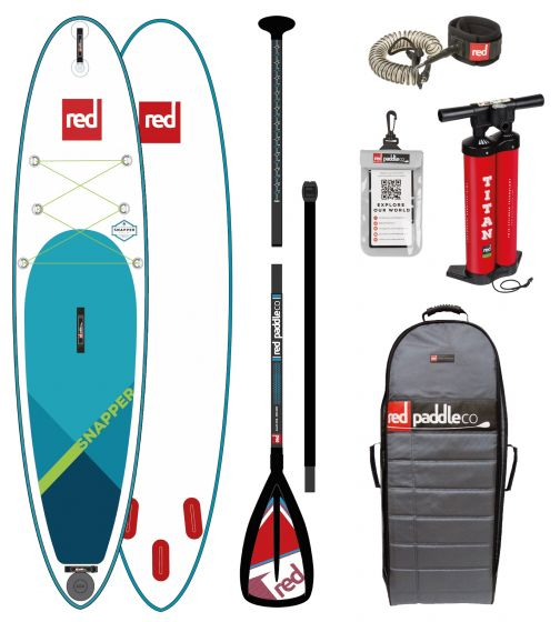 Red Paddle 9ft 4 Snapper Inflatable Sup
