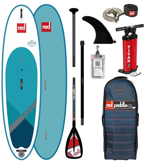 Red Paddle Wind Sup 10ft 7 Paddle Board