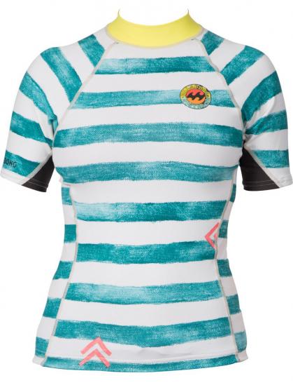 Billabong Surf Capsule Girls Rash Vest 2016 - Multi