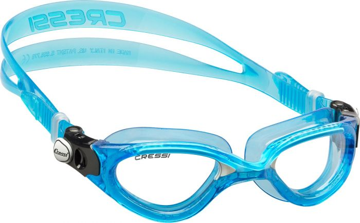 Cressi Flash Clear  Lens Goggles 2021 - Blue