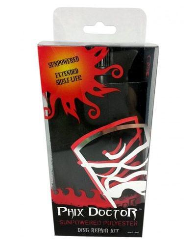 Phix Doctor Sun powered Polyester Surfboard Repair Kit