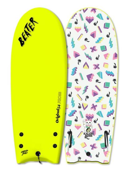 "Catch Surf X Kalani Robb 54"" Beater Surfboard - Yellow"