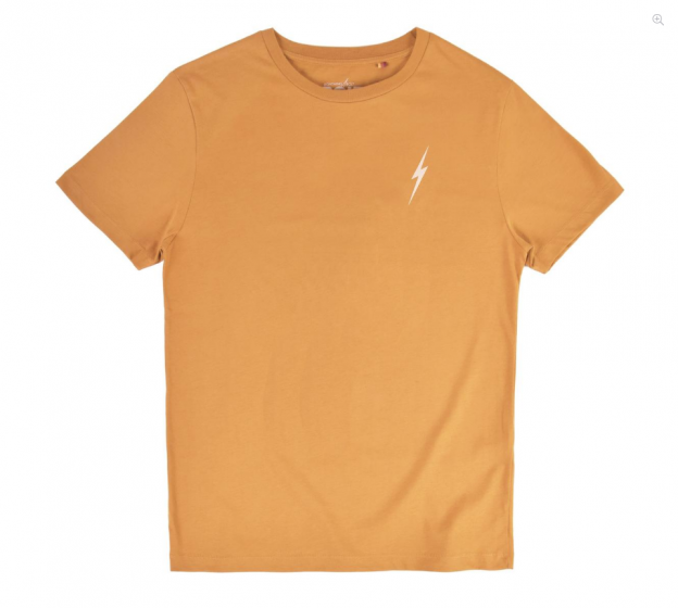 Lightning Bolt Mens Essential Bolt Tee Golden Brown