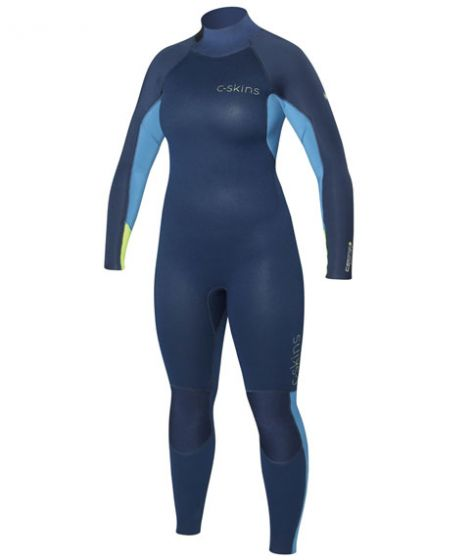 C-Skins Surflite 543 Womens ink blue/ yello