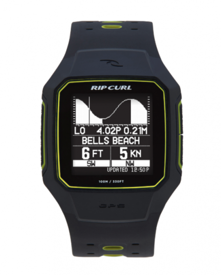 Rip Curl Search GPS 2 Watch in Yellow